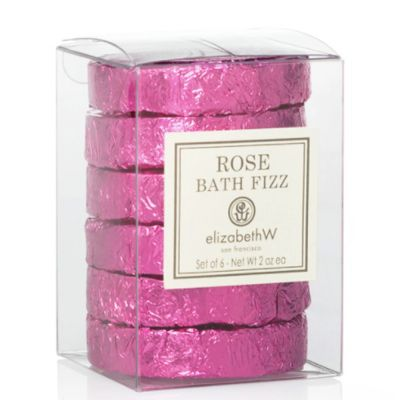 Rose Bath Fizz Tablets