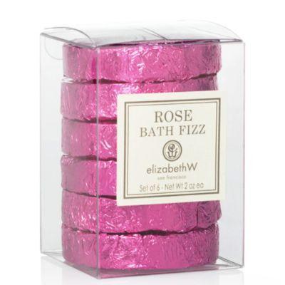 Rose Bath Fizz Tablets