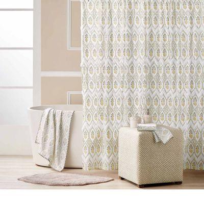 Sahasa Ochre Shower Curtain