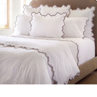Sakuna Gray Duvet Cover & Shams