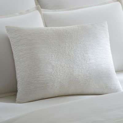 Sessa Snow Decorative Pillow by Sferra