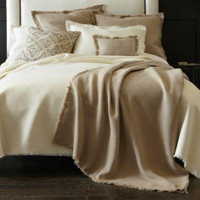 Braga Blankets & Shams by Peacock Alley
