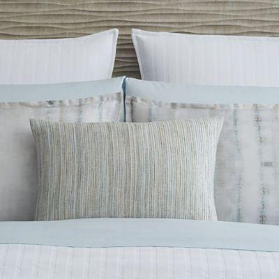 Minori Smoke Decorative Pillow by Sferra