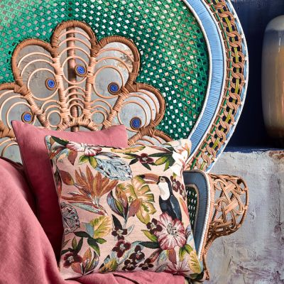 Utopia Collection with matching decorative pillow.