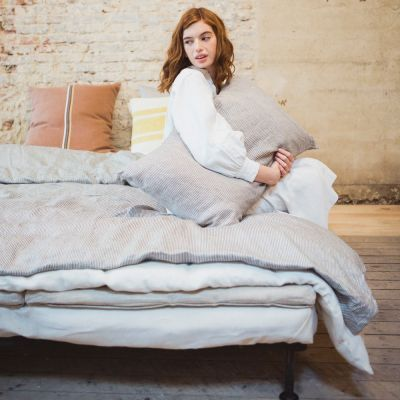 Workshop Duvet Cover & Shams by Libeco